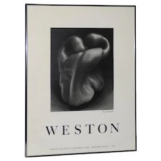 "Edward Weston ""Bell Pepper"" Poster c.1979"
