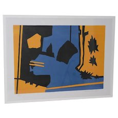 Ralston Crawford Framed MOMA Print