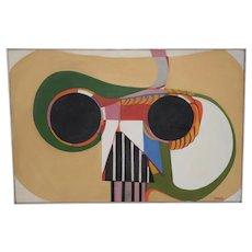 Mid Century Abstract by Lois Larsen c.1950s