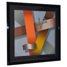 Daniel Heidi Modernist Abstract Serigraph S/N