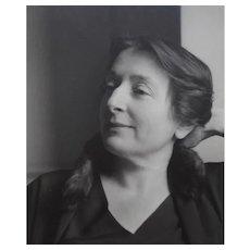 Imogen Cunningham B&w Portrait of a Woman C.1930s