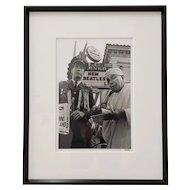 "Richard Blair Photograph ""Tom Dunphy aka General Waste-More-Land"" Berkeley, c.1969"