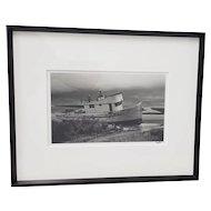 """Richard Blair Photograph """"Shipwrecked Boat - Tomales Bay"""" c.2000"""