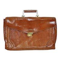 Vintage Crocodile Hand Bag