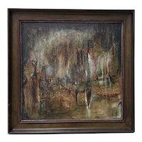 "Winifred Lucy Shaffer ""Marsh Lights"" Original Oil Painting"