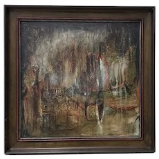 "Winifred Lucy Shaffer ""Marsh Lights"" Original Oil Painting"