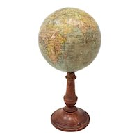 Rare 19th Century Terrestial Globe by G. Thomas, Editeur & Globe Maker, Paris
