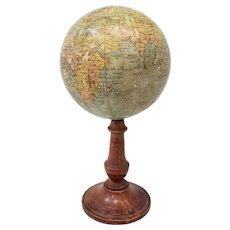 Rare 19th Century Terrestial Globe by G. Thomas, Editeur & Globe Maker, Paris