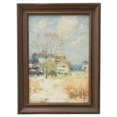 Clark Summers Marshall (1860-1944) Original Oil Painting c.1920