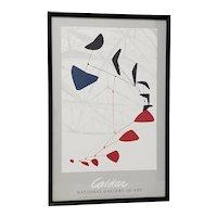 Alexander Calder National Gallery of Art Exhibition Poster c.1976