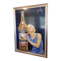 """Vintage 1920s French """"Persan Export"""" Poster by Nicolitch"""