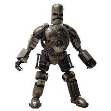 Heavy Gauge Scrap Metal Robot Sculpture