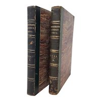Two Volumes of the Illustrated London News 1861 and 1867