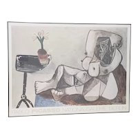 """Vintage Large Scale Picasso """"National Galerie, Berlin"""" Exhibition Poster c.1989"""