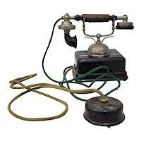 Antique Kjobenhavns Aktieselskab Telefon Made in Denmark