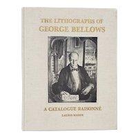 The Lithographs of George Bellows A Catalogue Raisonne by Lauris Mason c.1977