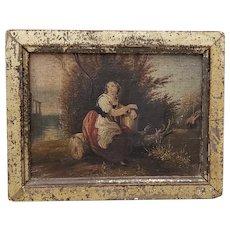 19th Century Miniature Italian Masterpiece