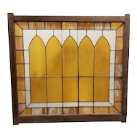 Large Scale Late 19th Century Stained Glass Window Panel c.1880