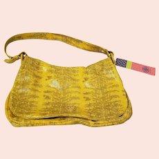 Vintage Tory Burch Yellow Handbag