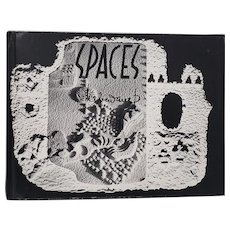 "Lebadang ""Spaces"" Signed and Inscribed Art Book c.1986"