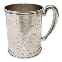 19th Century Tiffany & Co. Sterling Silver Cup c.1881