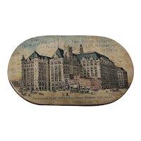 Antique Prudential Insurance Pin Holder Souvenir