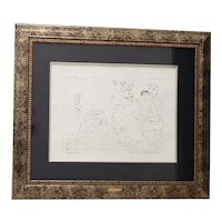 After Pablo Picasso Limited Edition Chromolithograph from the Domain Picasso Collection