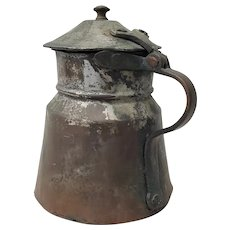 18th Century Hand Forged Tankard