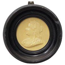 19th Century Queen Victoria Framed Composite Portrait