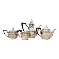 Vintage Shreve & Co. Sterling Silver Coffee & Tea Set