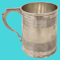 Antique Sterling Silver Christening Cup w/ Hallmarks