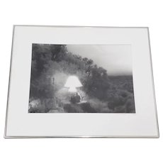 "Vintage ""Double Exposure"" Black and White Photograph by Sal c.1995"