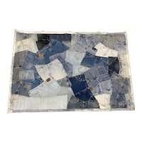 """Large Scale """"Blue Jeans"""" Tapestry"""