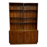 Danish Modern Rosewood Bookcase / Cabinet by Poul Hundevad c.1960s