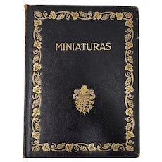 "Miniaturas ""Catalog of Miniatures"" Duke of Berwick & Alba c.1924"