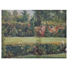"""""""Garden of Major McCrossin, Lenoia, Nj"""" by Captain Broberg C.1937"""