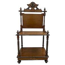 19th Century English Mahogany Server / Console Table