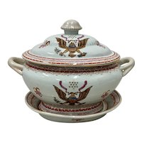 Early 20th Century Chinese Export American Amorial Tureen