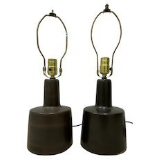 Comparable Pair of Mid Century Martz Table Lamps c.1960