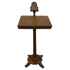 Antique American Oak Music Stand c.1900