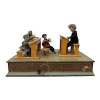 "19th Century ""Classroom"" Automaton G.A. Schwarz, Philadelphia c.1880"