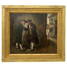 Henry Thomas Schafer Original Oil Painting