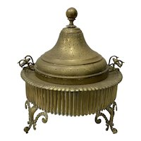 19th Century Brass Brazier w/ Skewers