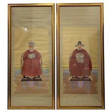 Emperor and Empress Chinese Paintings