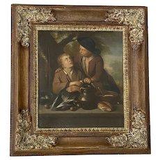 19th Century Dutch School Oil Painting