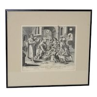 18th / 19th Century Engraving after Marten de Vos