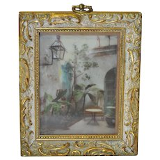C. Bennette Moore Hand Painted New Orleans Photograph