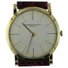 Mid-Century Modern Audemars Piquet Ultra Slim 18K Watch