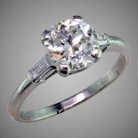 1.81 ct Diamond Platinum Ring