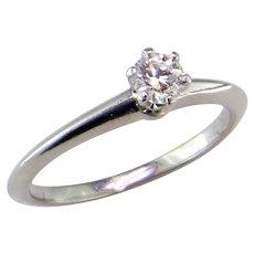 Tiffany Diamond Platinum Wedding Rings